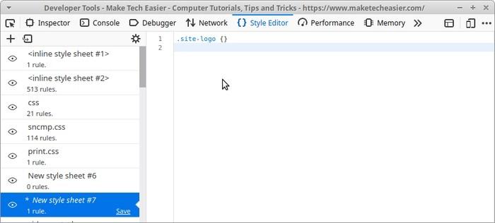 Edite el sitio en vivo con Firefox Paste Selector