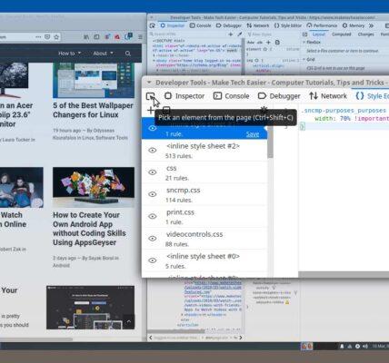 Cómo editar directamente un sitio con la herramienta de desarrollo web Firefox