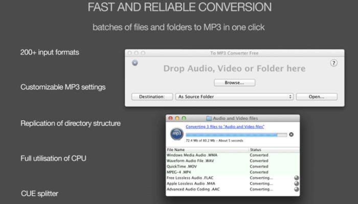 Flac en MP3 Tomp3