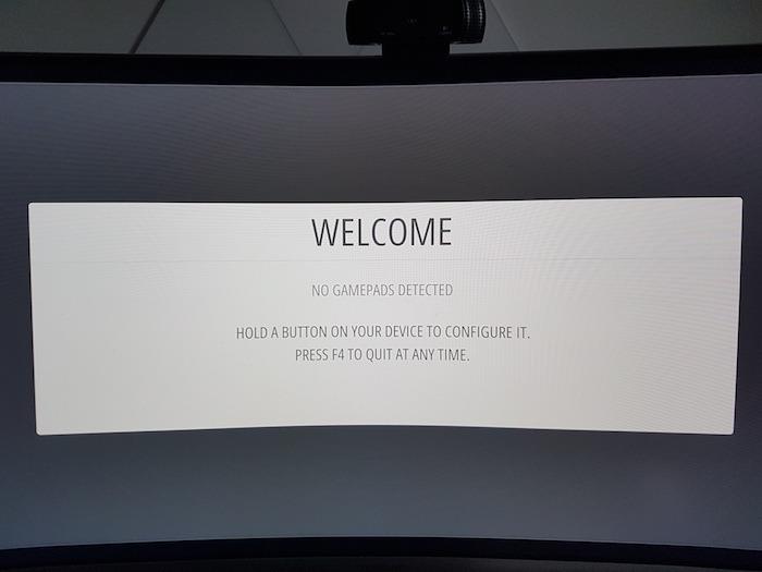 RetroPie debería identificar automáticamente el controlador de juego conectado.