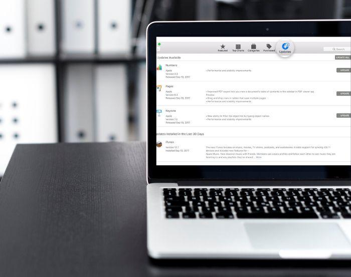 Refrigeración Reduce el calor Actualiza Macbook