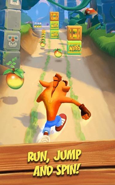 Ios nou Android Juegos móviles Crash Bandicoot 2020