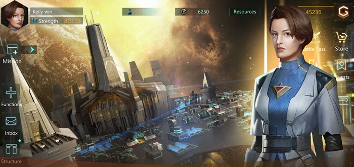 Ios nou Android Juego de Comando Stellaris Galaxy