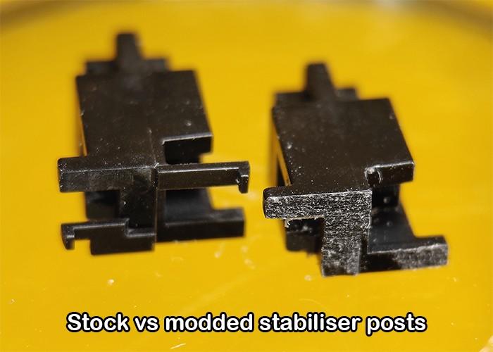 Modding 1 estabilizador de teclado I3