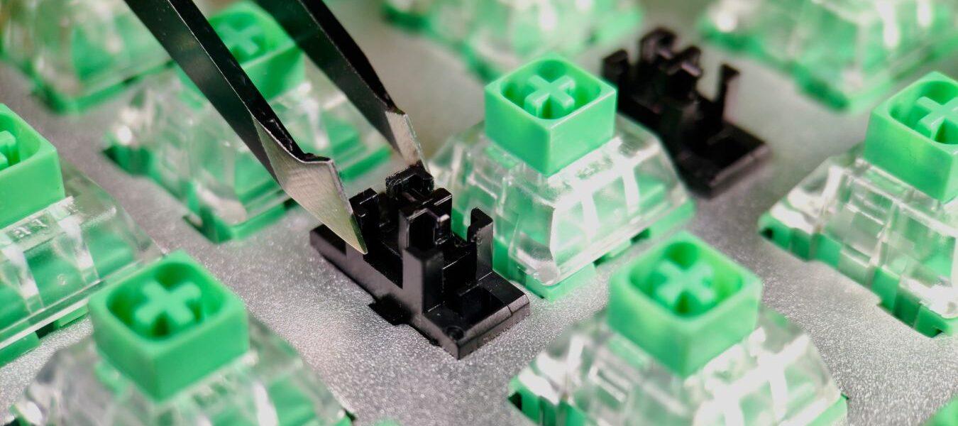 Guía avanzada del teclado: cómo lubricar y estabilizar los estabilizadores