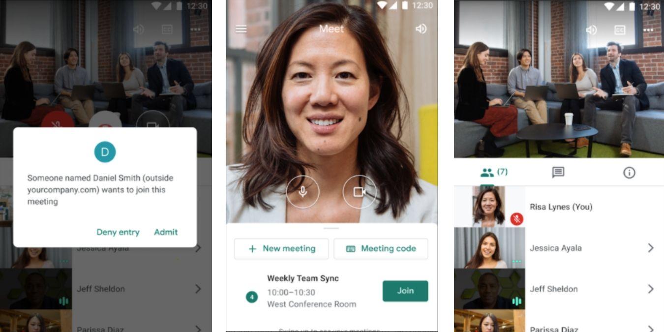 Google Meet es bueno para fotos móviles