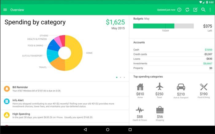 mejor-seguimiento-de-gastos-aplicaciones-android-mint