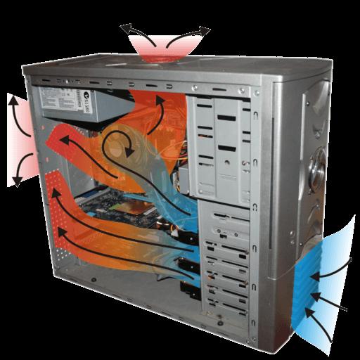 Reducir el ruido de la carcasa de refrigeración del ventilador