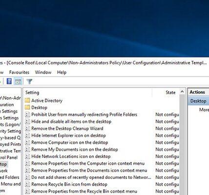 Cómo aplicar la directiva de grupo solo a no administradores en Windows diez