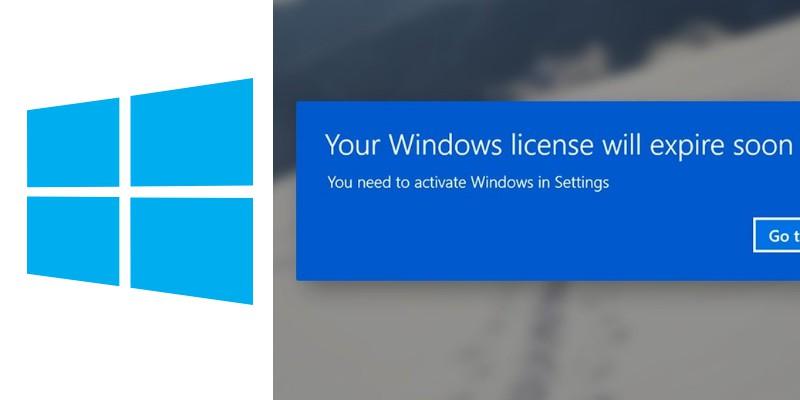 """Como arreglar """"Windows La licencia caducará pronto """"Error"""