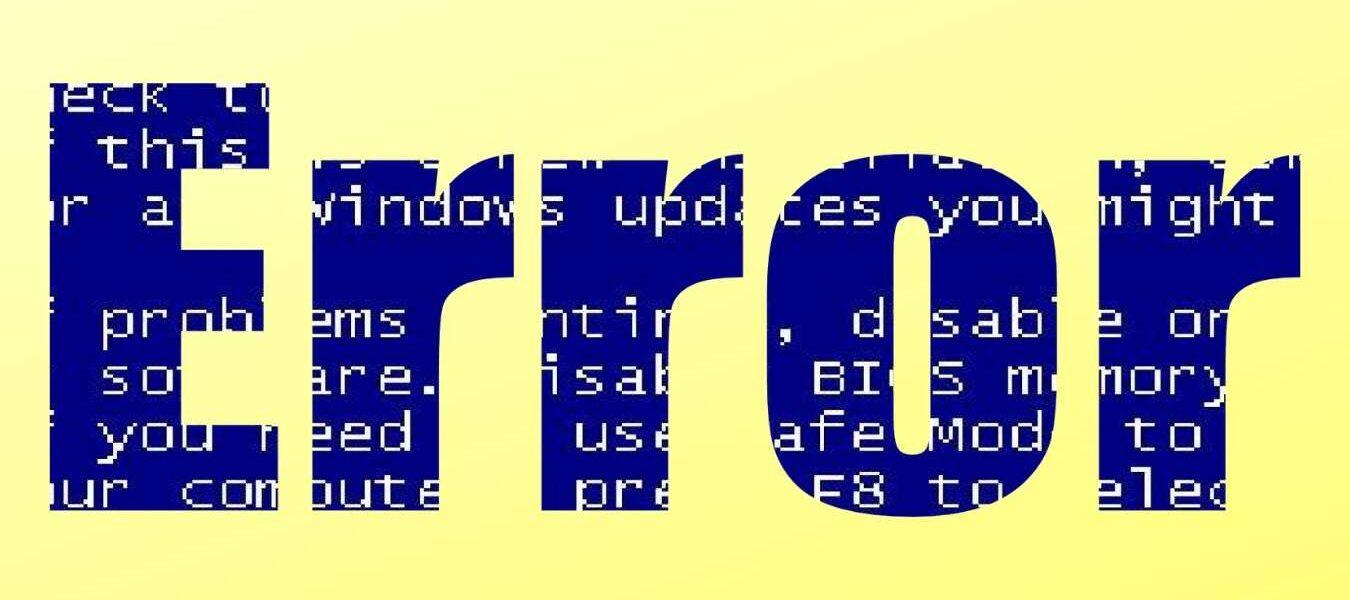 """Como arreglarlo Windows 10 """"Error inesperado de almacenamiento de excepciones"""""""