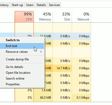 Cómo cerrar aplicaciones que no responden Windows diez
