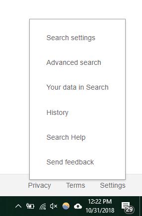 borrar-historial-de-búsqueda-clic-en-parámetros
