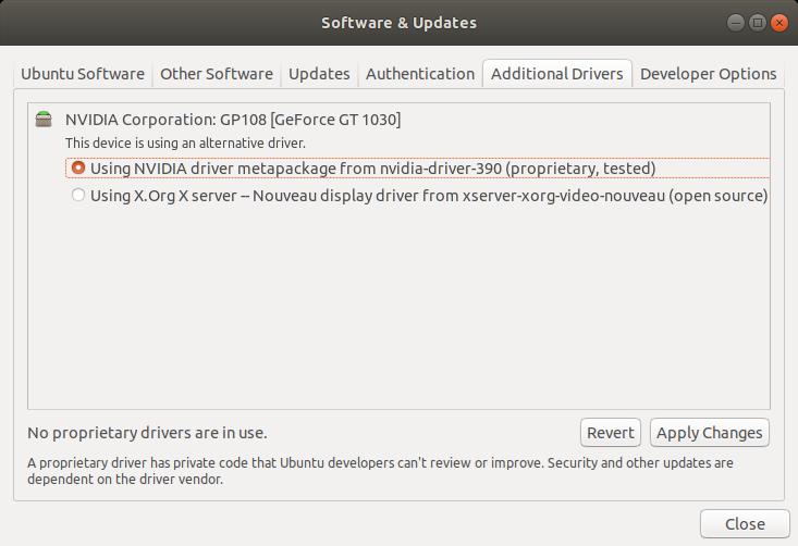 controladores-ubuntu-nvidia-adicionales