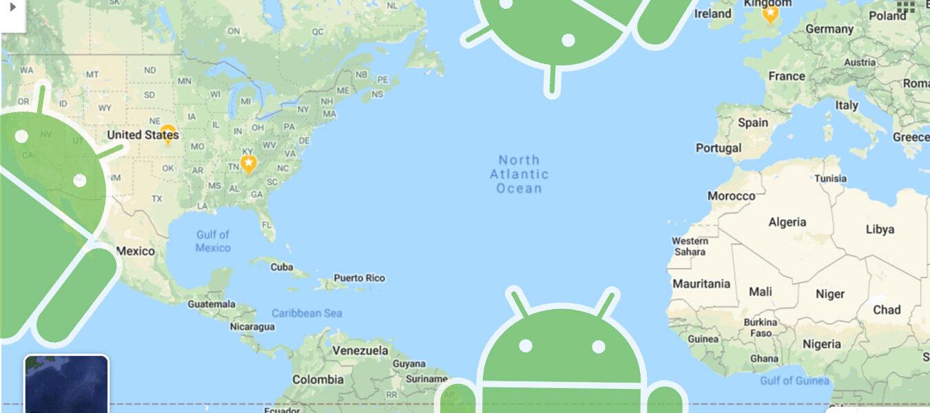 Cómo transformar tu ubicación en Android