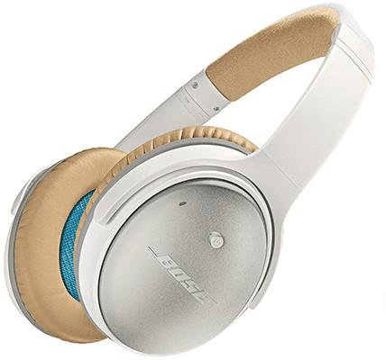 Obtenga los auriculares con cancelación de ruido Bose QuietComfort 25 a mitad de precio