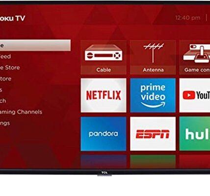 Obtenga un televisor LED inteligente TCL Roku de 40 pulgadas por menos de $ 200